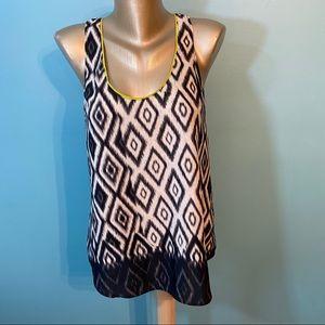 Charlie Jade geometric print blouse